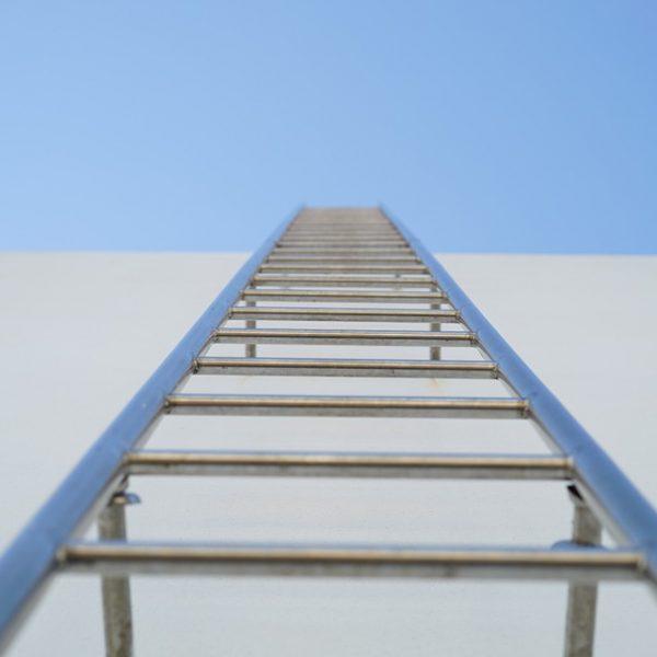 Sicherer Halt auf dem Weg nach oben!